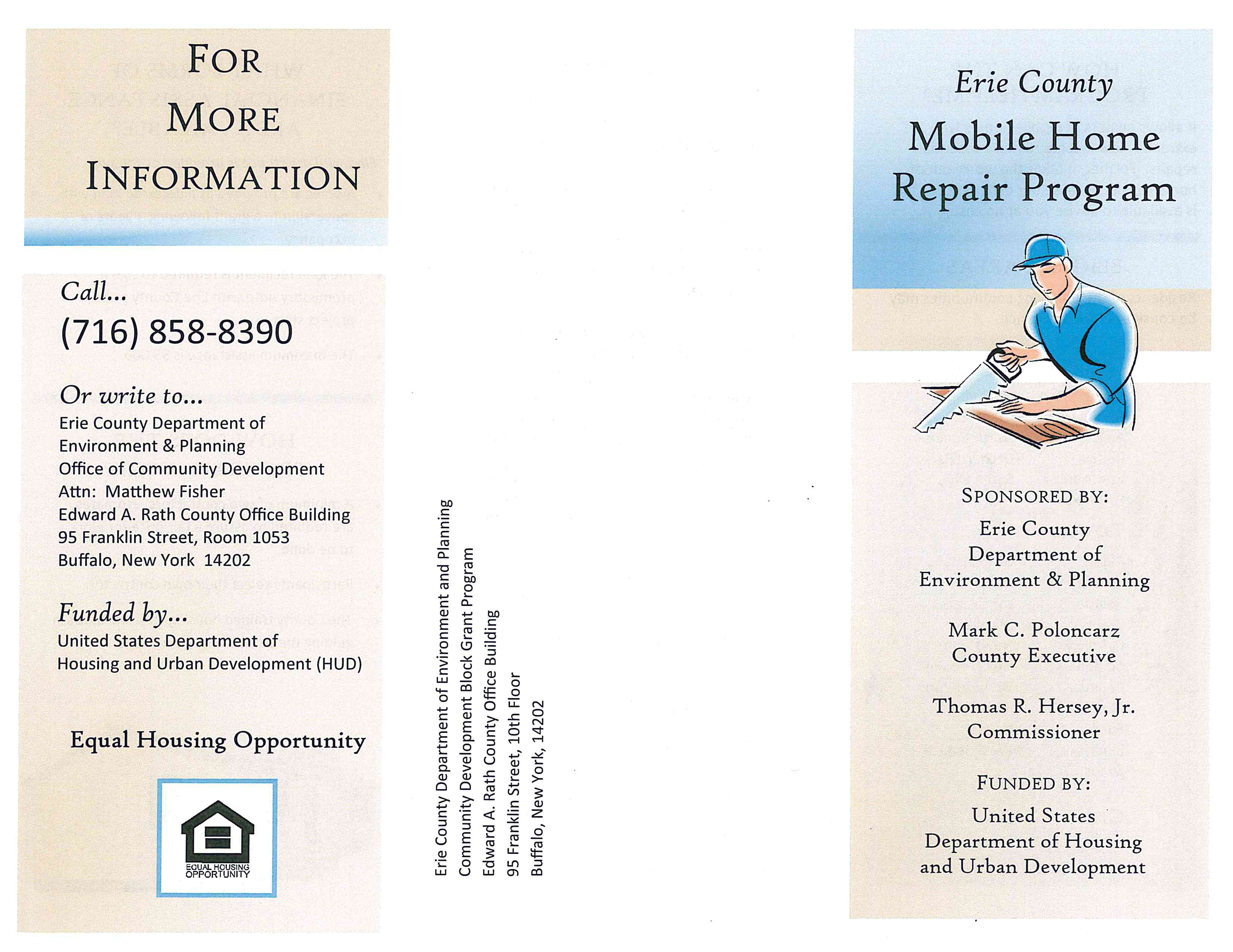 Mobile Home Repair Program pg 2