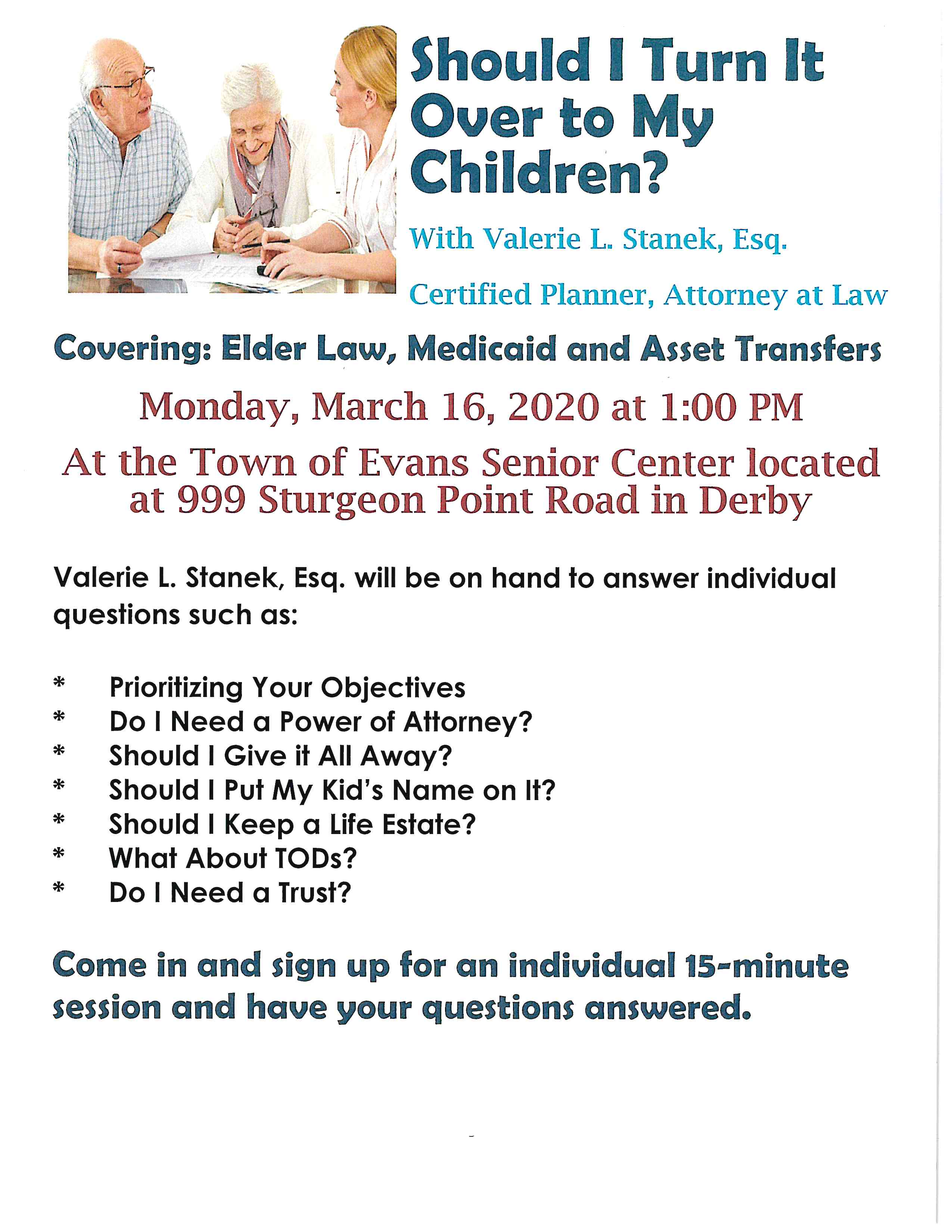 Elder Law Medicaid Asset Transfers 2020 03 16