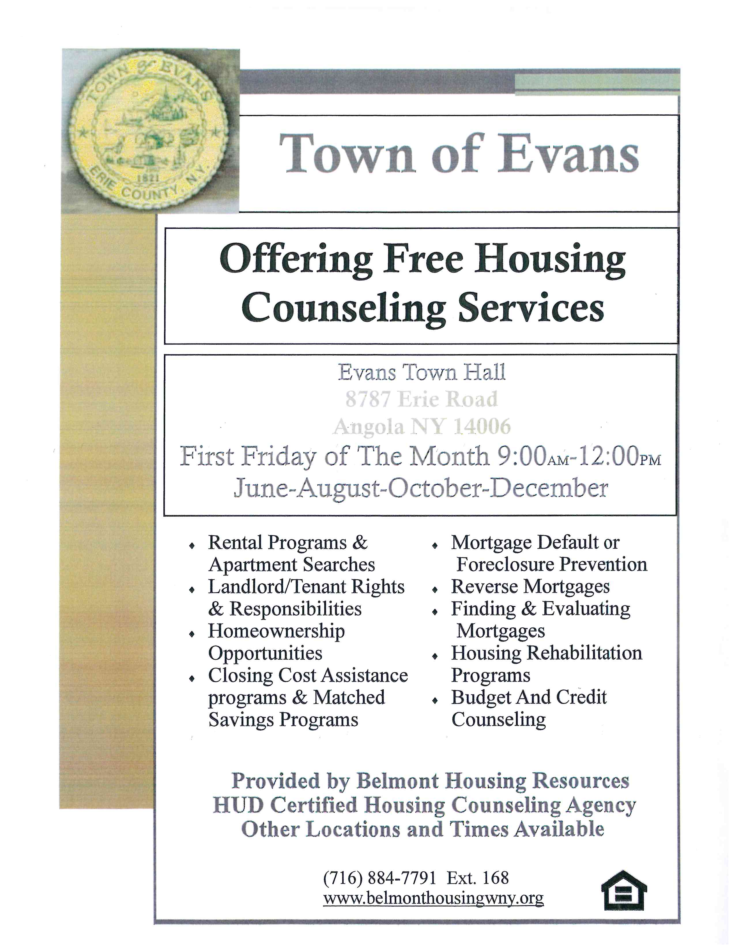 Free Housing Counseling Services