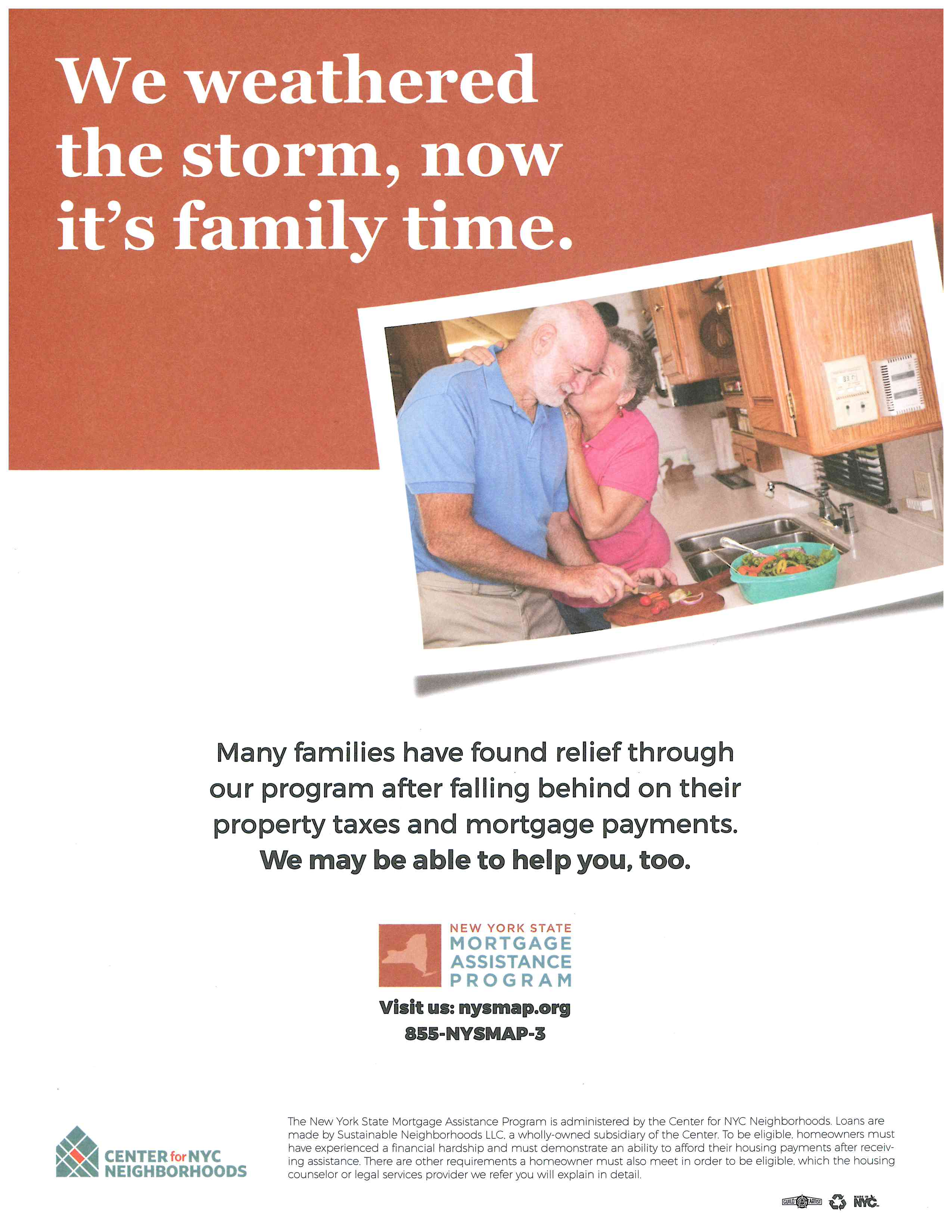NYS Mortgage Assistance Program Flyer