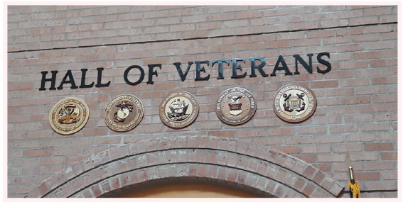 Naming of Hall of Veterans