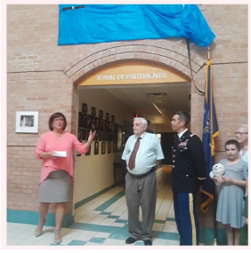 Naming of Hall of Veterans 2