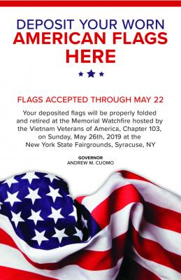 Retired Flag Drop Off 2019